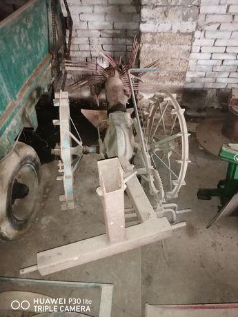 Kopaczka konna z zaczepem do ciągnika