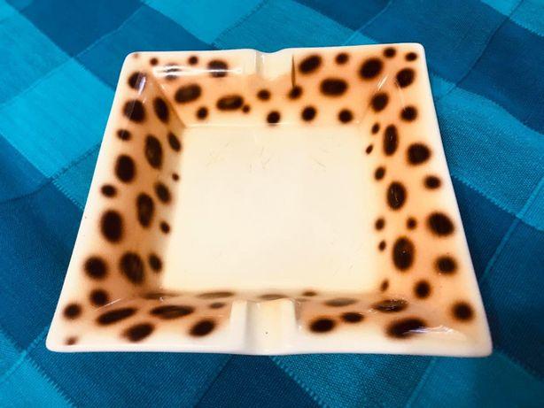 Антикварная большая перпельница Zoe Monchety леопард коллекция