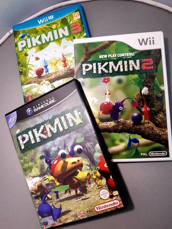 Coleção de jogos Pikmin (Nintendo GameCube, Wii e Wii U)