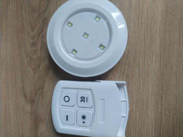 Światełko lampka na baterie