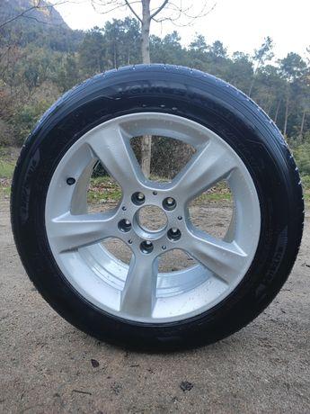 Jantes mercedes c pneus novas