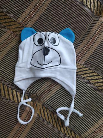 Новая шапочка для ребенка