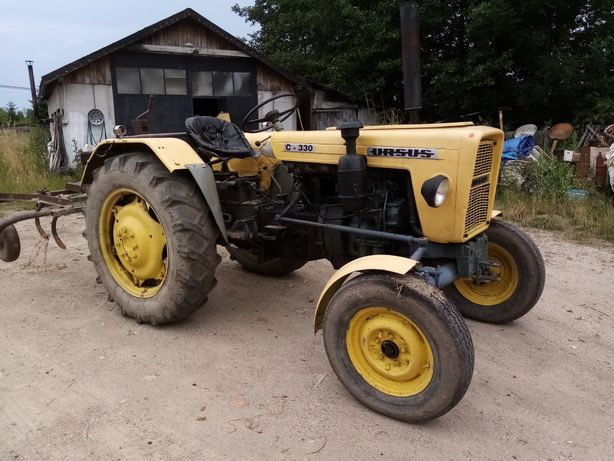 Traktor ursus c-328 zarejestrowany