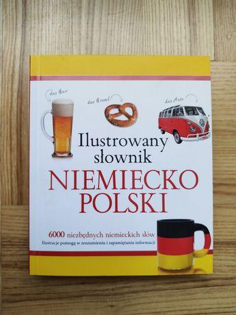 Ilustrowany słownik niemiecko polski Olesiejuk