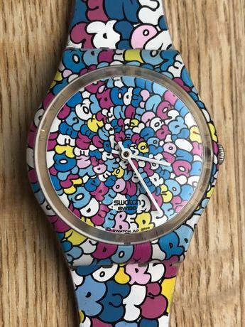Swatch ge232 love zegarek dziecięcy kidrobot bdb 35 mm