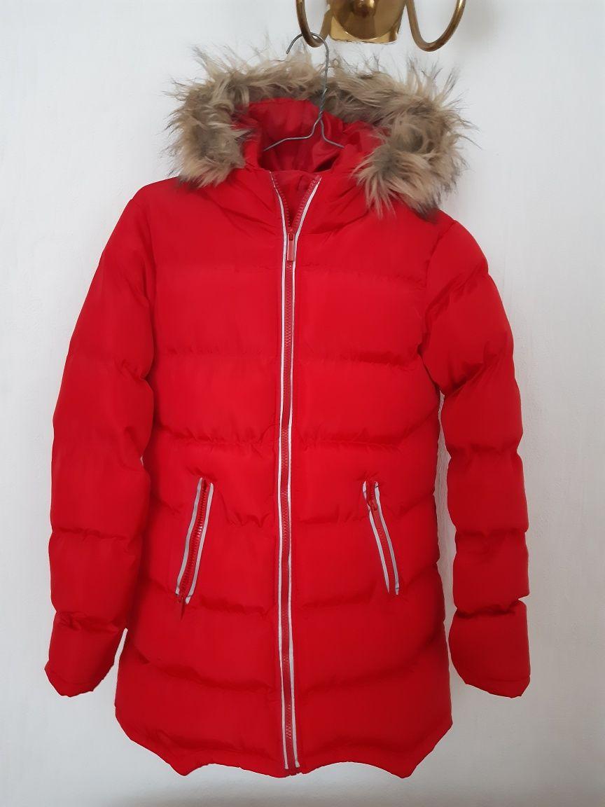 kurtka zimowa dziewczęca 158
