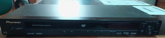 Pioneer DV-300-K, leitor de DVDs (como novo)
