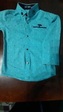 Дитяча рубашка на хлопчика