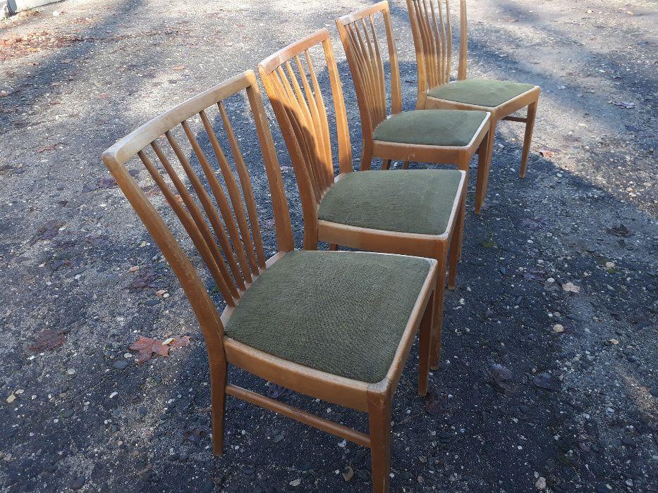 Krzesła lata 60. Cztery sztuki Rybnik - image 1