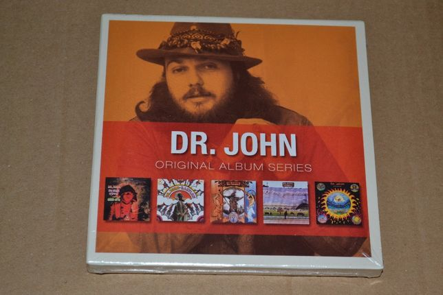 Dr. John – Original Album Series, 5CD Boxset, Запечатанный.