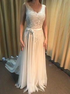 Suknia ślubna NOWA Sposa3763 NOWA boho plażowa ślub cywilny