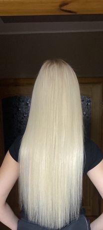Przedłużanie i zagęszczanie włosów metodą tape on włosy SŁOWIAŃSKIE