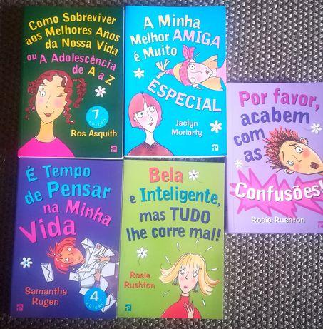 Livros adolescentes