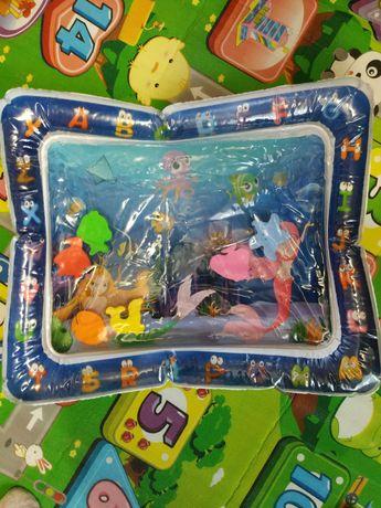 Розвиваючий водний коврик для малюків