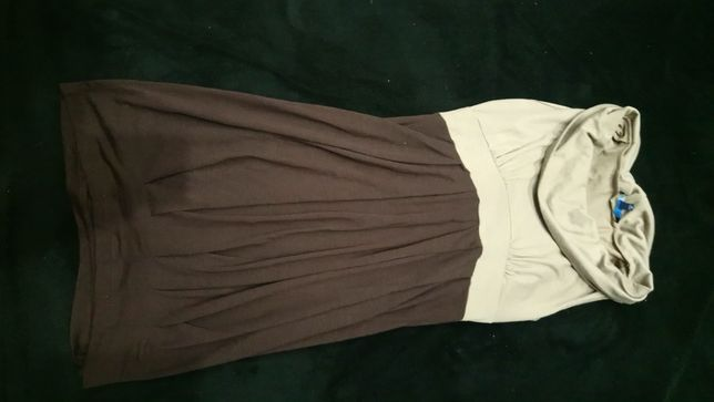 Sukienka dwukolorowa,rozmiar m 38