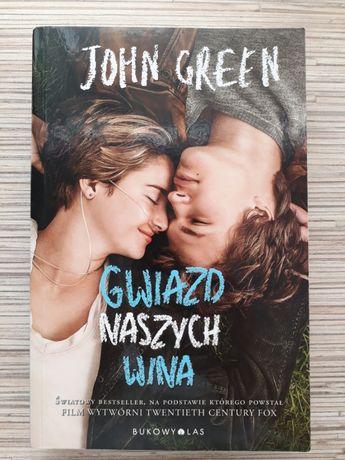 """""""Gwiazd naszych wina"""" - John Green"""