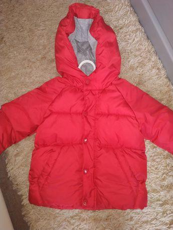 Куртка zara (еврозима, демисизон) 86см