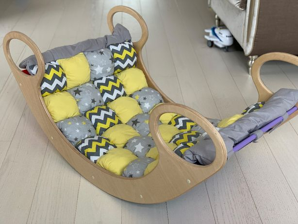Десткая качалка кроватка Uka-CHaka