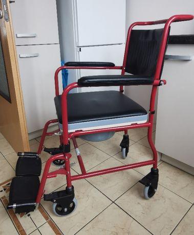 Wózek inwalidzki / toaleta - stan idealny