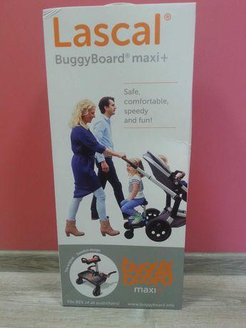 Підставка до коляски для другої дитини Lascal BuggyBoard maxi+