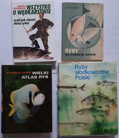 Książki o rybach, wędkarstwie