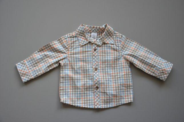 2 koszule z długim rękawem firmy C&A