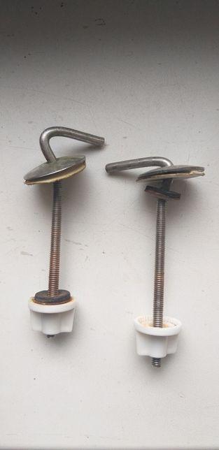Отдам крепления для туалетной крышки (вечные)