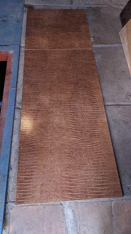 Плитка напольная Аллигатор, цвет темно-желтый, 50,2x50,2 см,