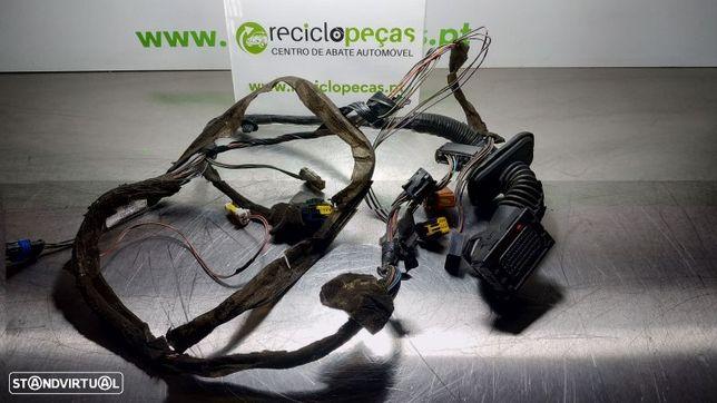 Instalação Eletrica Porta Frt Esq Renault Megane Ii Três Volumes (Lm0/