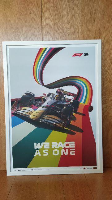 Poster Formula 1 We Race As One