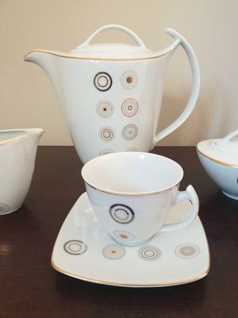 Ćmielów - serwis kawowy porcelanowy