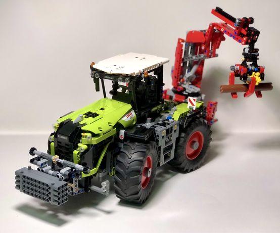 Лего Техник Трактор | Lego Technic CLAAS XERION 5000 TRACTOR (42054)