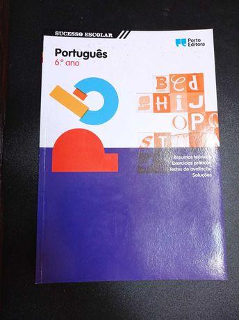 Caderno de atividades de Português.º-6ºano