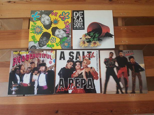 Conjunto de Vinil Hip Hop, Old School etc.