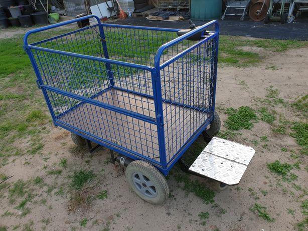 Wózek elektryczny, transportowy