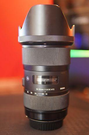 Sigma 18-35mm f1.8 DC HSM mount Canon
