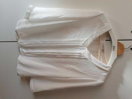 Biała bluzeczka - nowa , bez metki