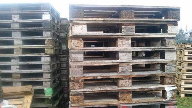 Drewniane palety Euro używane
