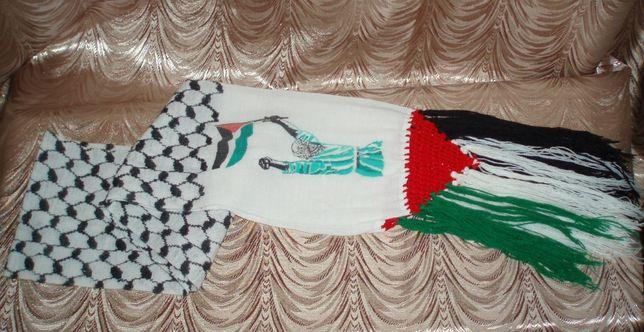 Новый шарф арафатка куфия 90-е гг Палестина хлопок винтаж