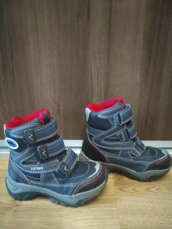 Śniegowce buty zimowe Kozaki chłopięce Cortina 27