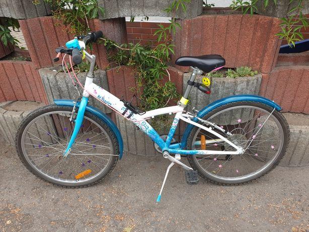 """Rower dziewczęcy b'twin 24"""""""