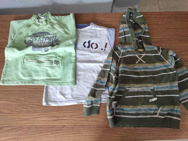Dwie bluzy i sweter