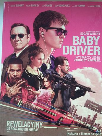 Baby Driver dvd.