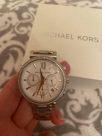 Michael Kors Sofie Pavé Two-Tone Watch