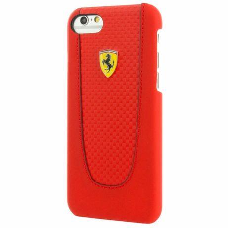 Etui FERRARI - Hard Case Pit Stop FEPIHCP7RE - Iphone 7/8/SE 2020 Czer