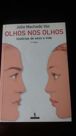 """Livro """"Olhos nos olhos, histórias de sexo e vida """""""