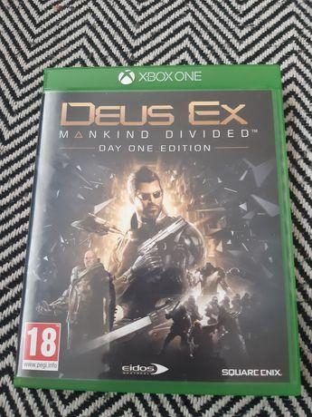 Gra na konsole Xbox one Deus Ex
