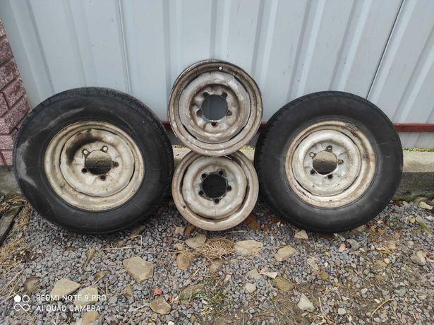 Диски колісні з шинами Газ 2410