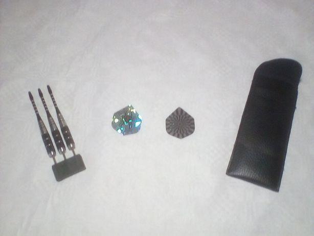 Zestaw 3 lotek do darta standard +2 piórka