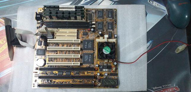 MotherBoard Amptron PM-8400A SOCKET 7 ISA PCI SDRAM SIMM